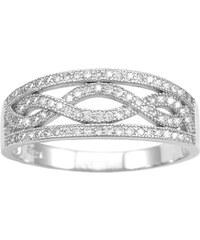 Silvego Stříbrný prsten Aida JJJR0120