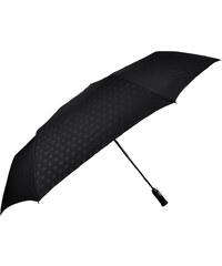 Bugatti Pánský skládací plně automatický deštník Gran Turismo XL Heat Stamp - černý 743069BU