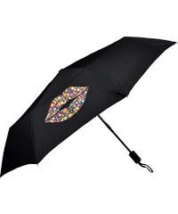 Doppler Dámský skládací plně automatický deštník Magic Carbonsteel Kiss 744765K