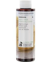 Korres Hydratační sprchový gel s bazalkou a citronem 250 ml