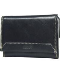 Lagen Dámská černá kožená peněženka Black LG-10/EST-1