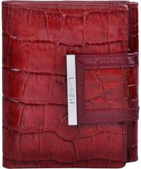 Lagen Dámská červená kožená peněženka Red 61175-2