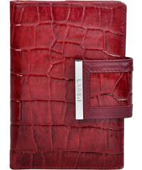 Lagen Dámská červená kožená peněženka Red 61174-2