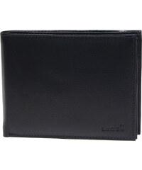 Lagen Pánská černá kožená peněženka Black V-75
