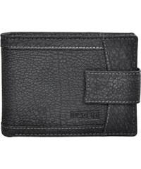 Lagen Pánská černá kožená peněženka Black V-05/W-1