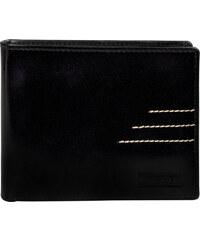 Lagen Pánská černá kožená peněženka Black 64666/C