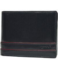 Lagen Pánská černá kožená peněženka Black 64666/E
