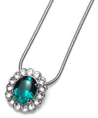 Oliver Weber Náhrdelník Genuine Emerald 9415-205