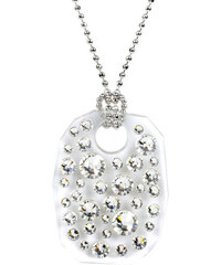 Troli Náhrdelník Bubble 28 x 21 Crystal