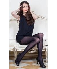 Evona Černé dámské punčochové kalhoty Carmen-999