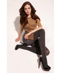 Gatta Tmavě šedé dámské punčochové kalhoty Up&Go! 02 antracite