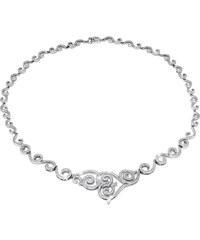 Silvego Stříbrný náhrdelník Princess JJJN0270