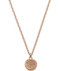 DKNY Bronzový náhrdelník s přívěskem NJ2023040