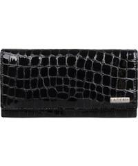 Lagen Dámská černá kožená peněženka Black V-102/2-1