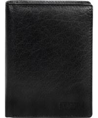 Lagen Pánská černá kožená peněženka Black V-26-3
