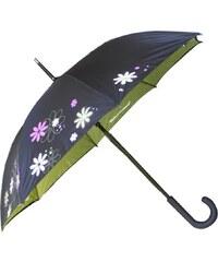 Blooming Brollies Dámský holový plně automatický deštník Cheeky Message Raining Men CHSRM