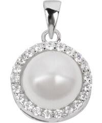 Beneto Stříbrný přívěsek s perlou AGH31