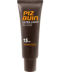 Piz Buin Ultra lehký nemastný fluid na opalování obličeje Ultra Light SPF 15 (Dry Touch Face Fluid) 50 ml