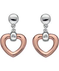 Hot Diamonds Náušnice Just Add Love Open Heart DE369