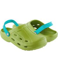Coqui Dámské pantofle Tina 1353 Green/Turquoise 100052