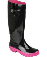 Coqui Dámské holínky Rainboot Ela II 8335 Black 100288
