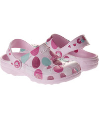Coqui Dětské pantofle Little Frog 8712 Pink Dot 100333