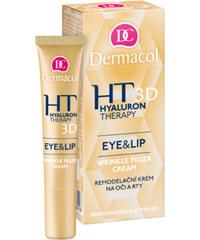Dermacol Remodelační krém na oči a rty (Hyaluron Therapy 3D Eye & Lip Wrinkle Filler Cream) 15 ml