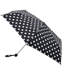 Fulton Dámský skládací mechanický deštník Miniflat 2 White Spot L340-2