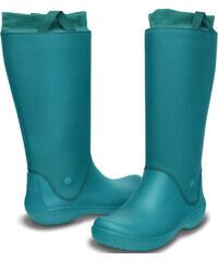 Crocs Dámské holínky RainFloe Boot Juniper-Juniper 12424-38J