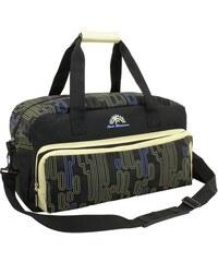 Friedrich Lederwaren Černá cestovní taška 34L 56075-0-1