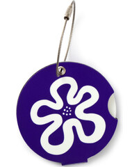 Suitsuit Jmenovka na kufr Addatag P105 Flower Purple