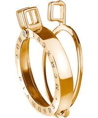Hot Diamonds Přívěsek Emozioni Black Gold Plated Sterling DP522