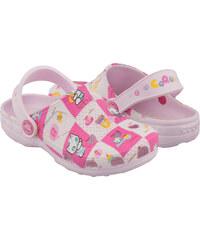 Coqui Dětské pantofle Little Frog 8713 Pink 100338