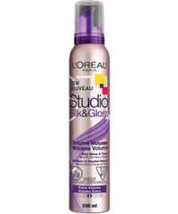 Loreal Paris Objemová pěna na vlasy Studio Line (Silk&Gloss Volume Mousse) 200 ml
