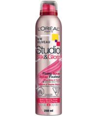 Loreal Paris Fixační sprej na vlasy Studio Line (Silk&Gloss Fixing Spray) 250 ml