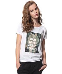 Horsefeathers Tričko Real Girls White SW475A