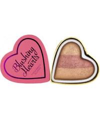 Makeup Revolution Srdcová tvářenka Srdcová královna I LOVE MAKEUP (Hearts Blusher Peachy Keen Heart) 10 g