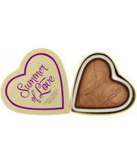 Makeup Revolution Srdcový bronzer Léto I LOVE MAKEUP (Hearts Bronzer Love Hot Summer) 10 g
