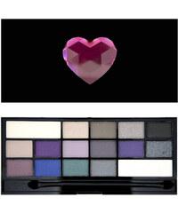 Makeup Revolution Zázračná paletka očních stínů Vášeň (Wonder Palette I Heart Passion) 22 g