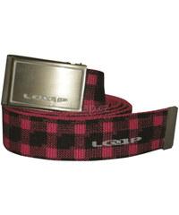 LOAP Opasek Tarano Hot Pink/Black OC1211-J59V