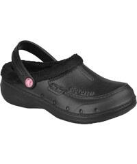 Coqui Černé dámské zateplené pantofle 9721 Black