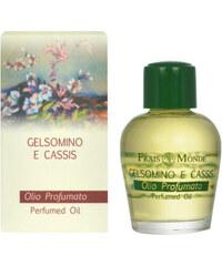Frais Monde Parfémovaný olej Jasmín a černý rybíz (Jasmin And Blackcurrant Perfumed Oil) 12 ml
