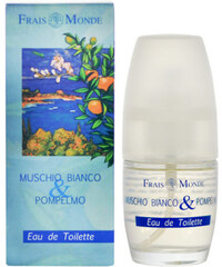 Frais Monde Toaletní voda Bílý mošus a grapefruit (White Musk And Grapefruit) 30 ml