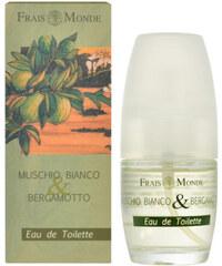 Frais Monde Toaletní voda Bílý mošus a bergamot (White Musk And Bergamot) 30 ml