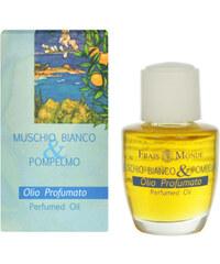Frais Monde Parfémovaný olej Bílý mošus a grapefruit (White Musk And Grapefruit Perfumed Oil) 12 ml