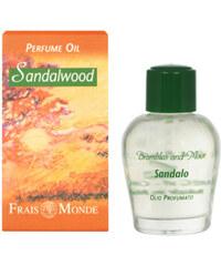 Frais Monde Parfémovaný olej Santalové dřevo (Sandalwood Perfume Oil) 12 ml
