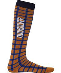 Quiksilver Podkolenky Steady Socks Sudan Brown EQYAA00081-NNW0