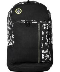 Volcom Batoh Prohibit Canvas Backpack 22L Black White D6531454-BWH