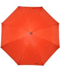 s.Oliver Dámský skládací mechanický deštník Fruit Cocktail Orange 70801SO18-4