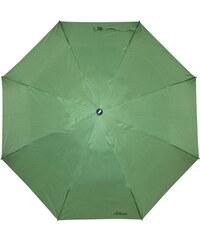s.Oliver Dámský skládací mechanický deštník Fruit Cocktail Green 70801SO18-5